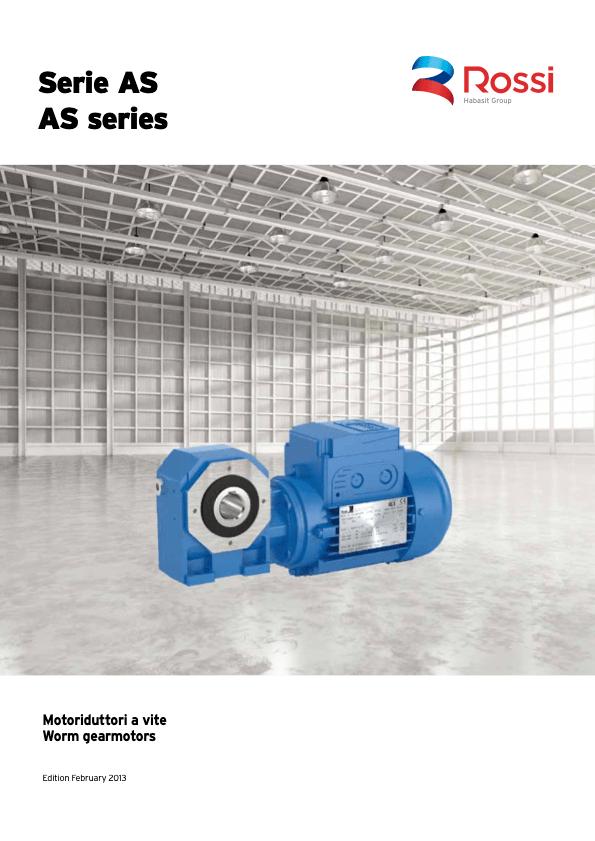 réducteur roue et vis ROSSI