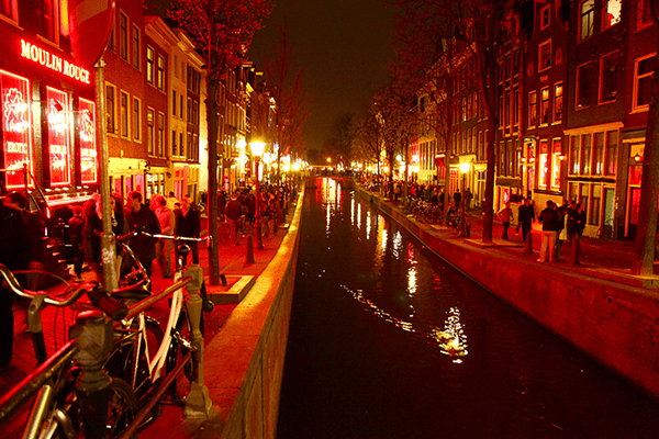 Amsterdam's Best Boat Tours: Red Light District