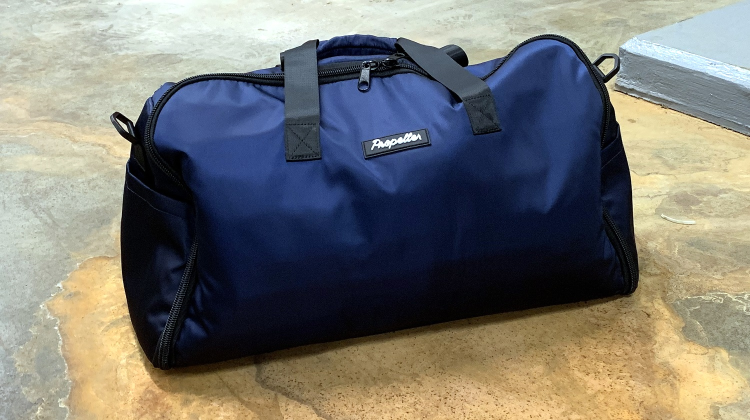 the propeller outfitters garment duffle