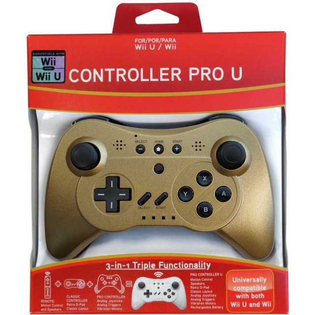Controller Pro U Gold Limited Edition