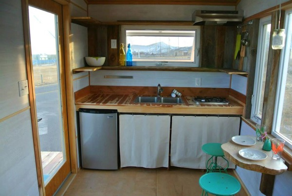 tiny house with kitchen