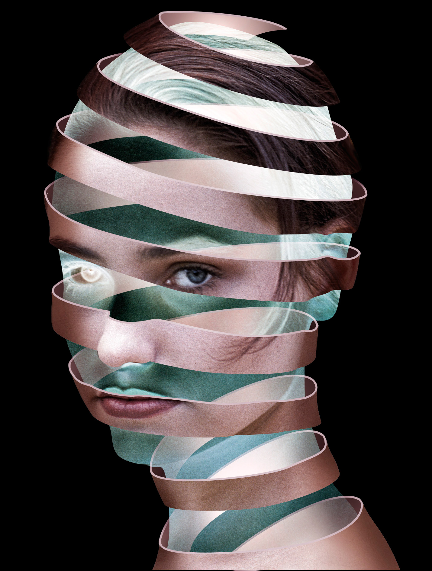 Create An Amazing Escher Like Face In Photoshop
