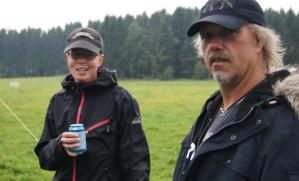 På vallhundskurs för Peter Nilsson