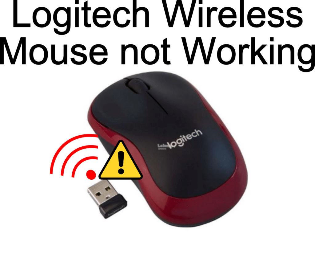 Logitech Wireless Mouse Not Working For Windows
