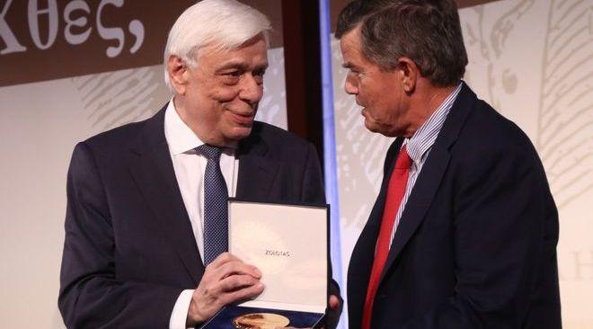 Χρυσό μετάλλιο του Ζαππείου στον Θανάση Μαρτίνο
