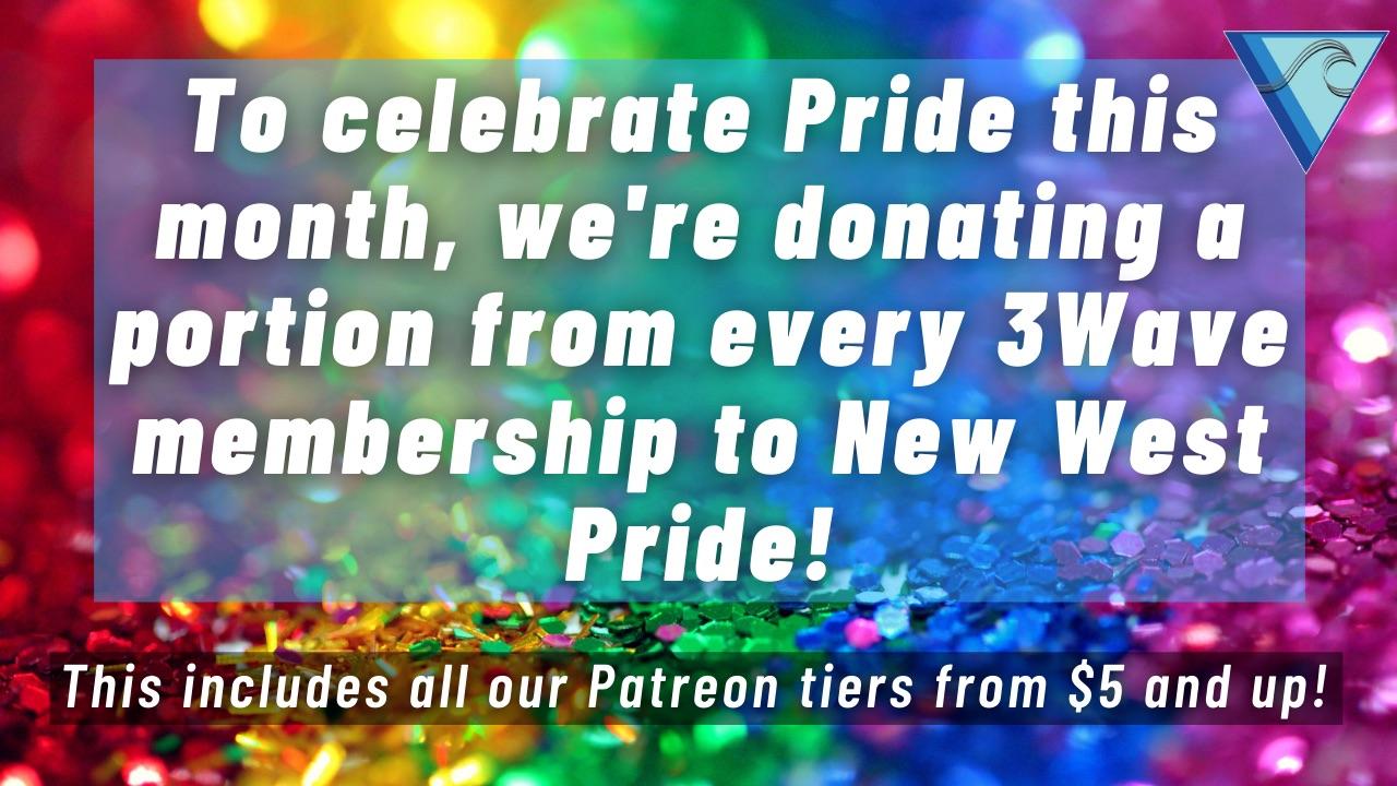 Rainbow Glitters Pride Virtual Zoom Background