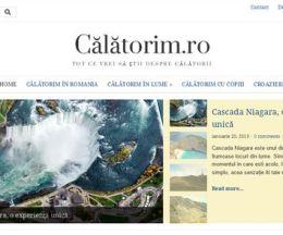 Un site pentru călători: calatorim.ro