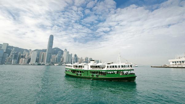 蔚藍東岸_ferry