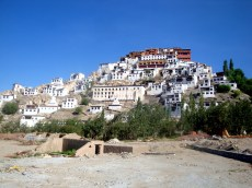 Thiksey Monastery is pretty as a picture itself