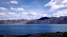 The lake and its many shades of blue - 3