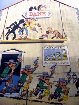Lucky Luke - Along the Comic Book route in Brussels (3)