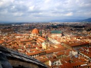 Florence's skyline from the top of the Duomo - 2