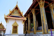 One of the small halls near the temple of the Emerald Buddha