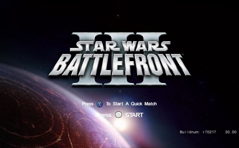 [QUICKIE] And then. Boom. (Battlefront III Leak)