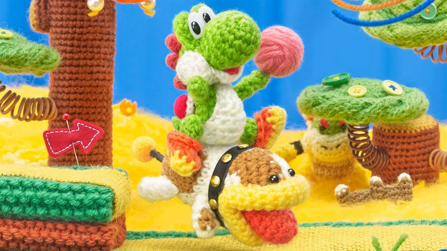 Demo Impressions - Poochy & Yoshi's Woolly World for 3DS and New 3DS