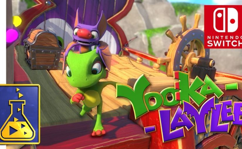 Yooka-Laylee – Nintendo Switch Version Announced!