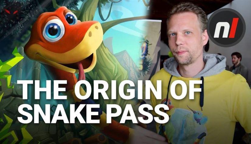 The Story of Snake Pass' Origin from Creator Seb Liese (Nintendo Life)