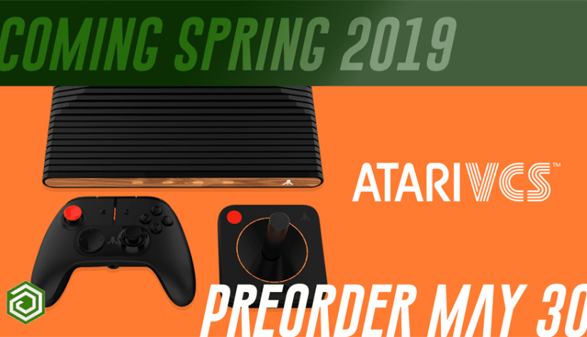 Atari VCS Indiegogo opening on May 30, won't ship initially until Spring 2019