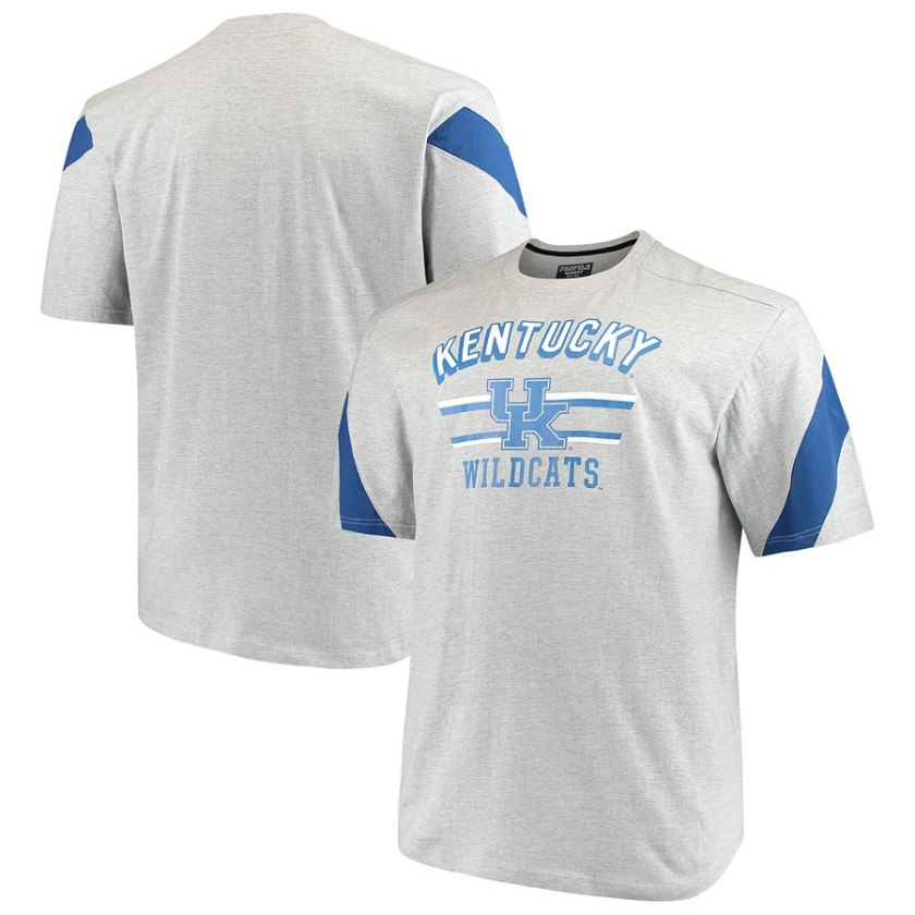 kentucky wildcats tee shirts in big and tall 2x 3x 4x 5x 6x xlt-5xlt