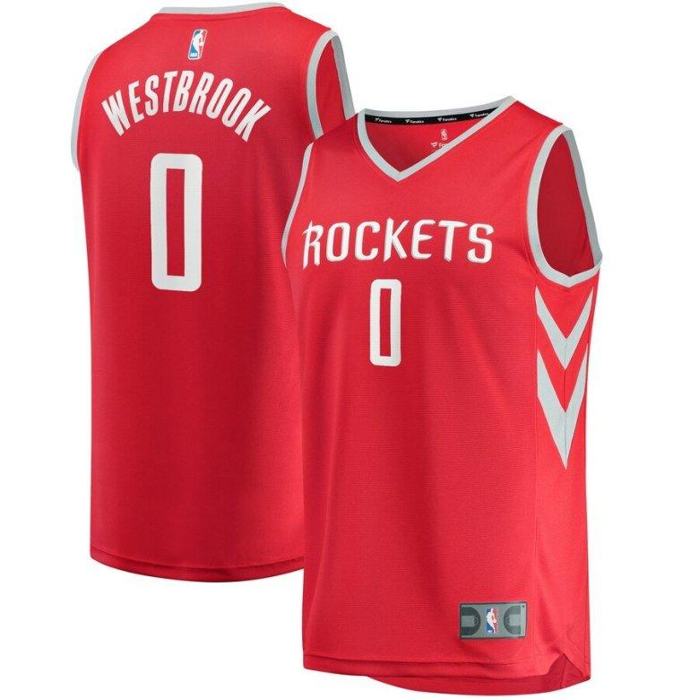 on sale b76c7 07dd8 Russell Westbrook Jersey S-3X 4X 5X - Rockets Big, Tall, Plus