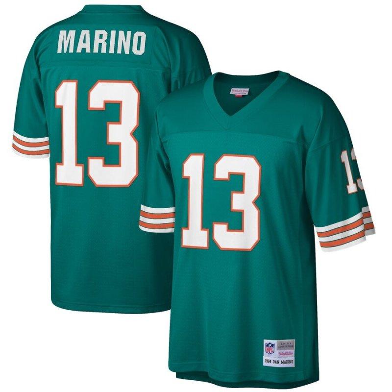 Dan Marino Jersey (Aqua) Miami Dolphins Mitchell & Ness