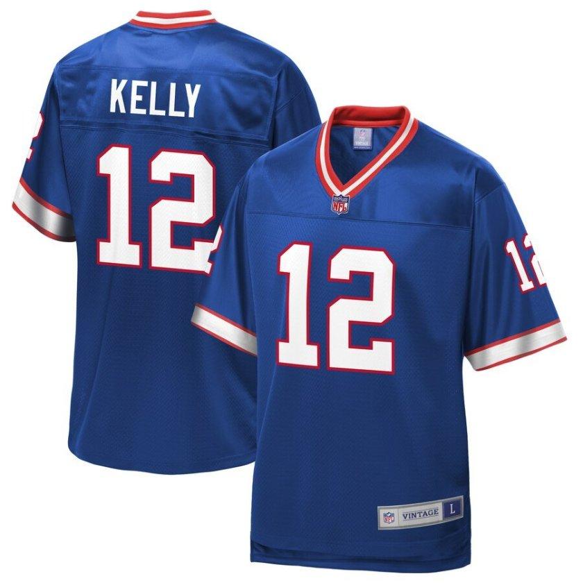 Jim Kelly Jersey - Bills Throwback