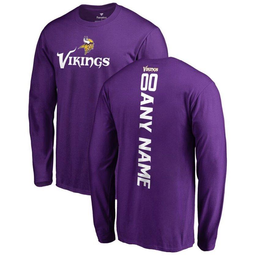Custom Minnesota Vikings Tee Shirt