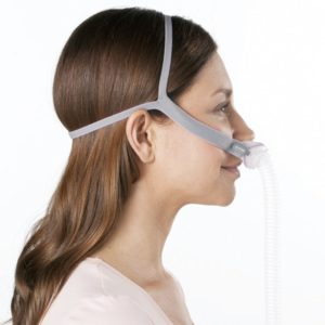 resmed airfit p10 for her nasal pillow cpap bipap mask with headgear fitpack