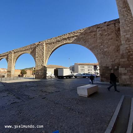 acueducto viaducto Los Arcos Teruel
