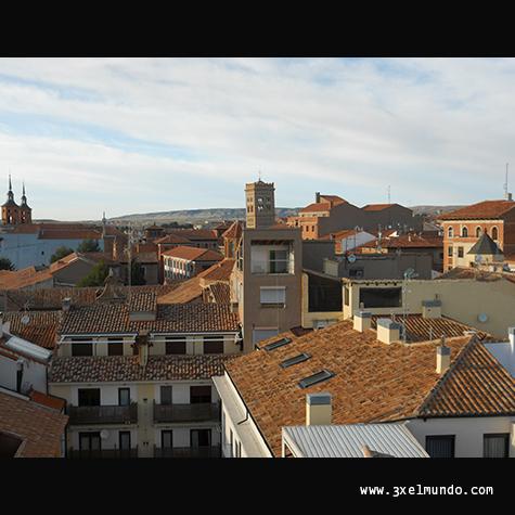 panorámica de Teruel