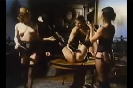 Retro porn - BDSM training for a maid