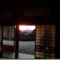 戸定邸からの富士山@千葉県松戸市