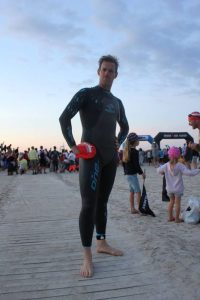 Bram Peereboom Ironman swim