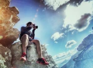 Photographer Table mountain