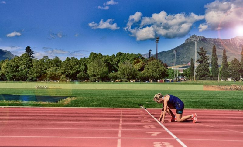Athletics camp track Stellenbosch