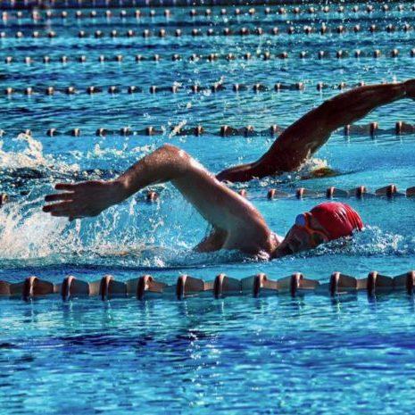 One on one swim session