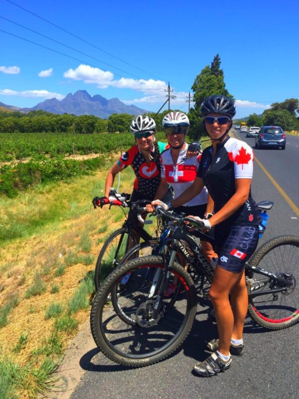 Ladies ride , cycling camp