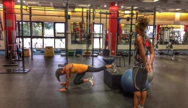 Gym session Maties 1