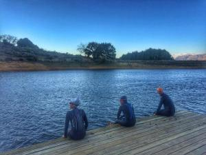 Open water swim Stellenbosch