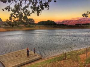 Open water swim Boschendal, Stellenbosch