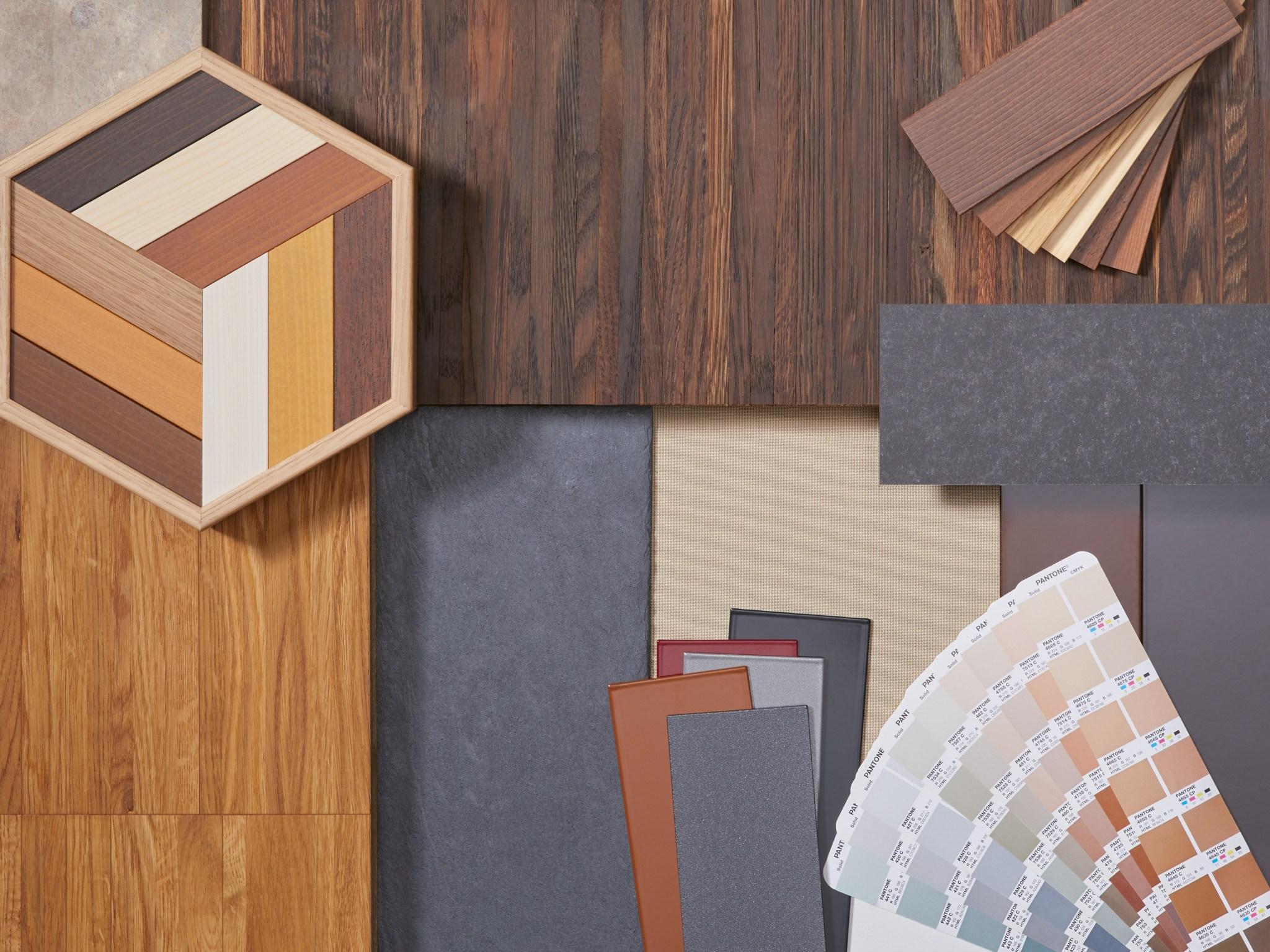 Individuelle Design und Material Varianten