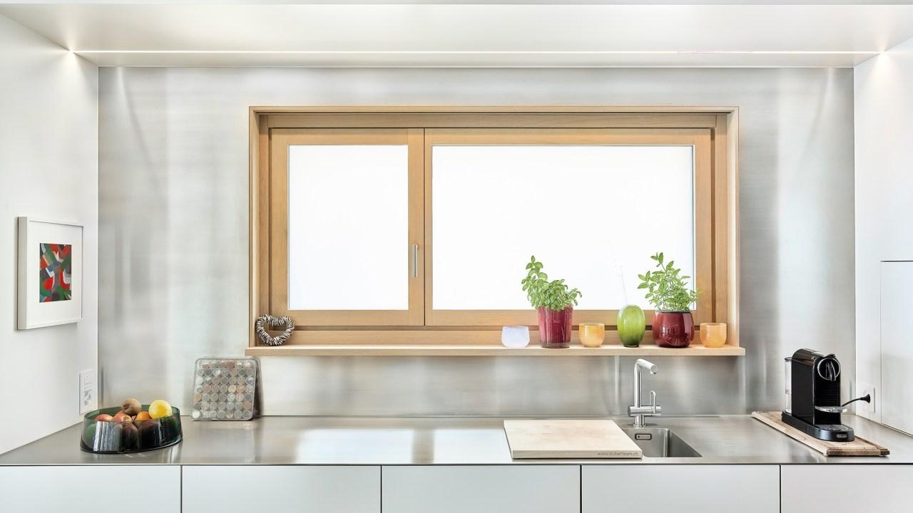 Dimmbares Glas in der Küche