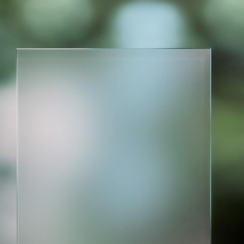 Strukturglas Satinato weiss
