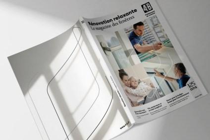 Photo d'ensemble du nouveau magazine 4B Windows en cours de rénovation