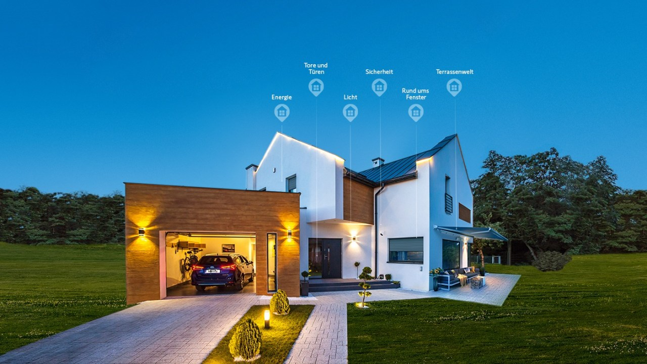 Somfy Smart Home Ready Lösung