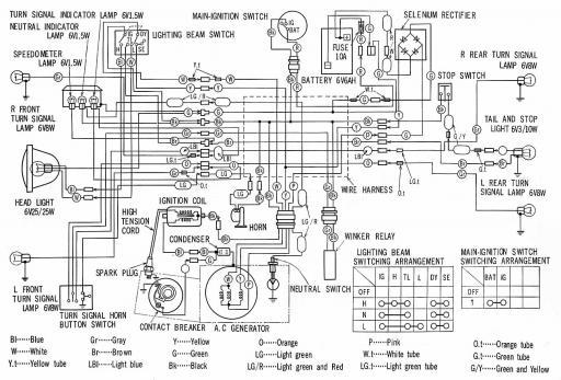 honda cl90 wiring diagram  wiring diagram operation mine