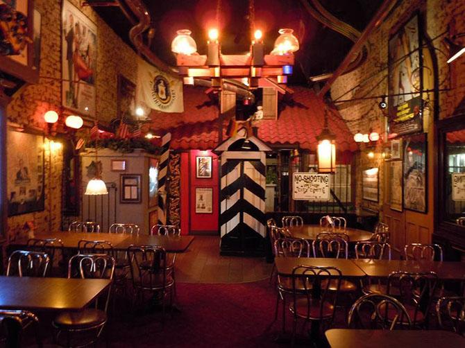 Самые необычные бары. Фотографии необычных ресторанов мира, заставляющие  забронировать столик