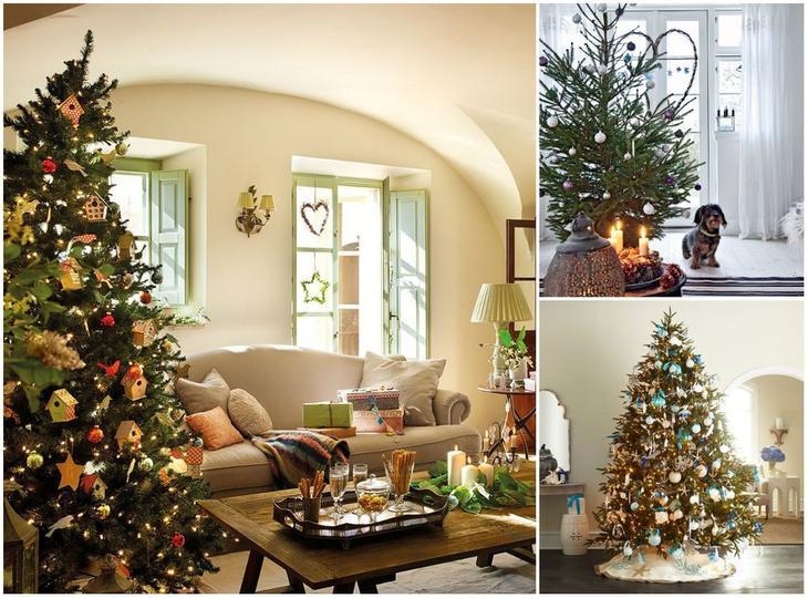 Новогодний декор: 10 идей для маленькой квартиры. Обсуждение на LiveInternet - Российский Сервис Онлайн-Дневников
