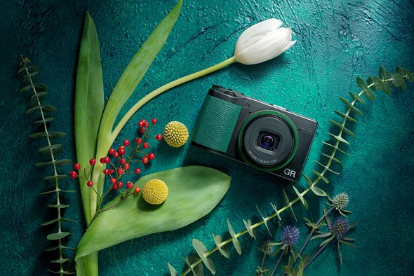Ricoh launches limited-edition GR III 'GRowING' kit in China, with green accents and accessories