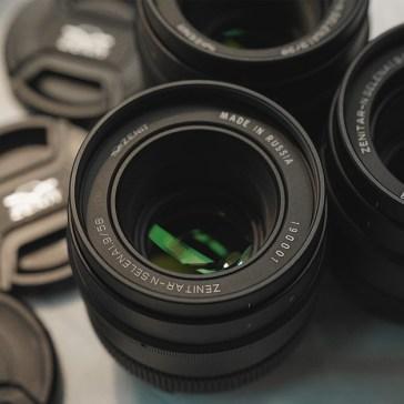 Zenitar releases 4 full-frame manual prime lenses for Canon, Nikon and Sony mounts